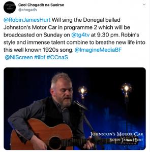 Ceol Chogadh na Saoirse on Twitter